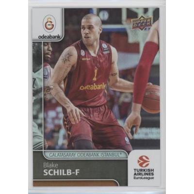 Коллекционная карточка 2016-17 Euroleague #44 BLAKE SCHILB (Galatasaray Odeabank Istanbul)
