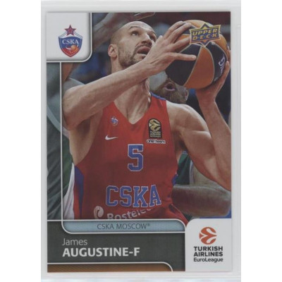 Коллекционная карточка 2016-17 Euroleague #49 JAMES AUGUSTINE (CSKA Moscow)