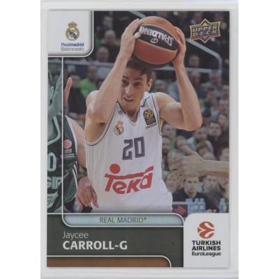 Коллекционная карточка 2016-17 Euroleague #51 JAYCEE CARROLL (Real Madrid)