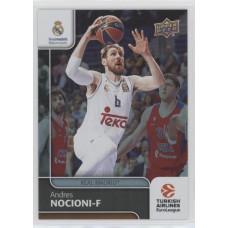 Коллекционная карточка 2016-17 Euroleague #58 ANDRES NOCIONI (Real Madrid)