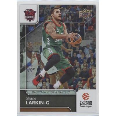 Коллекционная карточка 2016-17 Euroleague #61 SHANE LARKIN (Baskonia Vitoria)