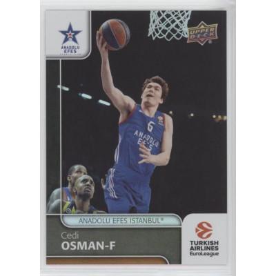 Коллекционная карточка 2016-17 Euroleague #65 CEDI OSMAN (Anadolu Efes Istanbul)