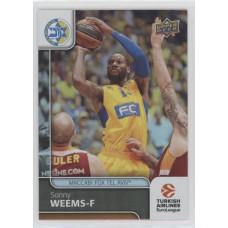 Коллекционная карточка 2016-17 Euroleague #67 SONNY WEEMS (Maccabi Fox Tel Aviv)