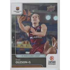 Коллекционная карточка 2016-17 Euroleague #71 BRAD OLESON (FC Barcelona Lassa)