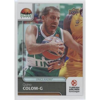 Коллекционная карточка 2016-17 Euroleague #72 QUINO COLOM (Unics Kazan)