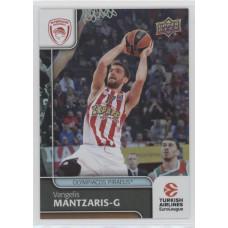 Коллекционная карточка 2016-17 Euroleague #76 VANGELIS MANTZARIS (Olympiacos Piraeus)