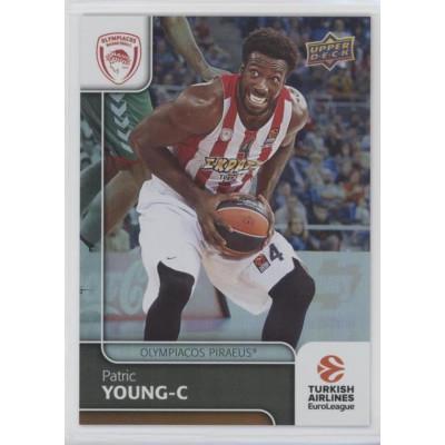 Коллекционная карточка 2016-17 Euroleague #78 PATRIC YOUNG (Olympiacos Piraeus)