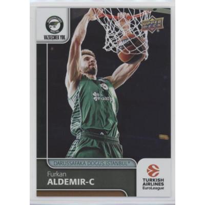 Коллекционная карточка 2016-17 Euroleague #79 FURKAN ALDEMIR (Darussafaka Dogus Istanbul)