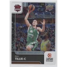 Коллекционная карточка 2016-17 Euroleague #81 KIM TILLIE (Baskonia Vitoria)