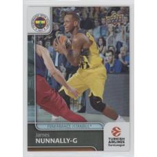 Коллекционная карточка 2016-17 Euroleague #84 JAMES NUNNALLY (Fenerbahce Istanbul)