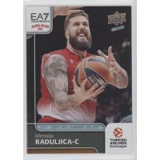 Коллекционная карточка 2016-17 Euroleague #86 MIROSLAV RADULJICA (EA7 - Emporio Armani Milan)