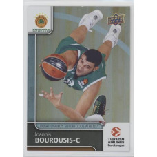 Коллекционная карточка 2016-17 Euroleague #87 IOANNIS BOUROUSIS (Panathinaikos Athens)