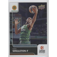Коллекционная карточка 2016-17 Euroleague #89 CHRIS SINGLETON (Panathinaikos Athens)