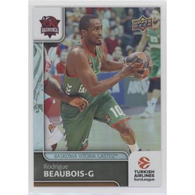 Коллекционная карточка 2016-17 Euroleague #94 RODRIGUE BEAUBOIS (Baskonia Vitoria)
