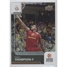 Коллекционная карточка 2016-17 Euroleague #98 DEON THOMPSON (Galatasaray Odeabank Istanbul)