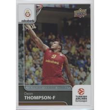 Коллекционная карточка 2016-17 Euroleague #98 DEON THOMPSON (Galatasaray Odeabank Istanbul)