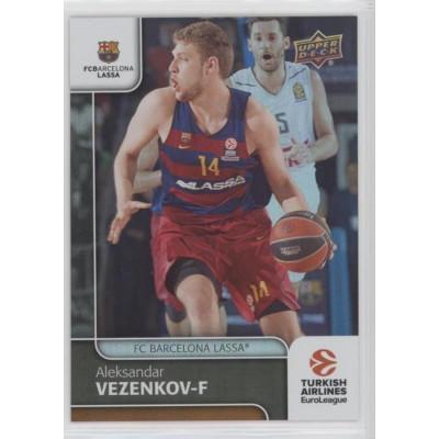 Коллекционная карточка 2016-17 Euroleague #32 ALEKSANDR VEZENKOV (FC Barcelona Lassa)