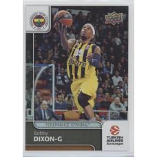 Коллекционная карточка 2016-17 Euroleague #25 BOBBY DIXON (Fenerbahce Istanbul)