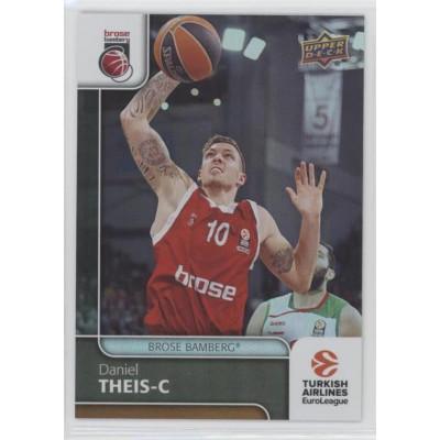 Коллекционная карточка 2016-17 Euroleague #36 DANIEL THEIS (Brose Bamberg)