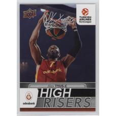 Коллекционная карточка 2016-17 Euroleague HR1 ALEX TYUS (Galatasaray Odeabank Istanbul)