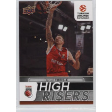 Коллекционная карточка 2016-17 Euroleague HR10 DANIEL THEIS (Brose Bamberg)