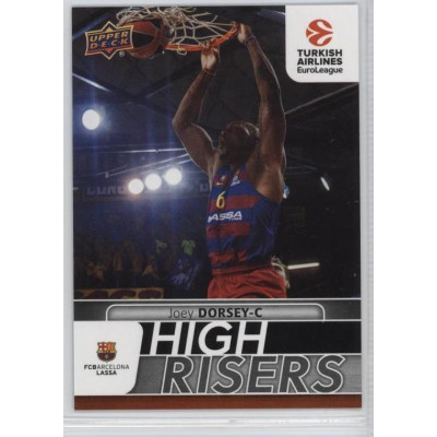 Коллекционная карточка 2016-17 Euroleague HR11 JOEY DORSEY (FC Barcelona Lassa)