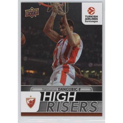 Коллекционная карточка 2016-17 Euroleague HR12 NEMANJA DANGUBIC (Crvena Zvezda MTS Belgrade)