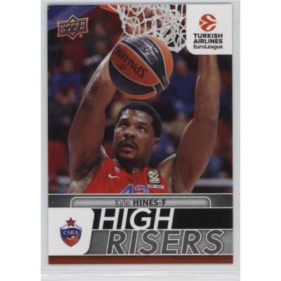 Коллекционная карточка 2016-17 Euroleague HR13 KYLE HINES (CSKA Moscow)
