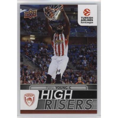 Коллекционная карточка 2016-17 Euroleague HR4 PATRIC YOUNG (Olympiacos Piraeus)