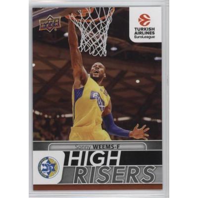 Коллекционная карточка 2016-17 Euroleague HR5 SONNY WEEMS (Maccabi Fox Tel Aviv)