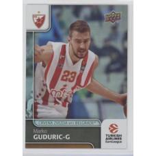 Коллекционная карточка 2016-17 Euroleague #24 MARCO GUDURIC (Crvena Zvezda MTS Belgrade)