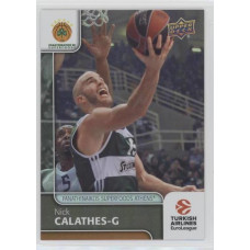 Коллекционная карточка 2016-17 Euroleague #22 NICK CALATHES (Panathinaikos Athens)