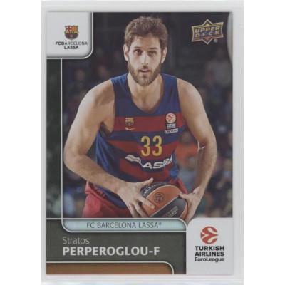 Коллекционная карточка 2016-17 Euroleague #31 STRATOS PERPEROGLOU (FC Barcelona Lassa)