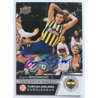 Коллекционная карточка 2015-16 Euroleague Autograph BOGDAN BOGDANOVIC (Fenerbahce Istanbul)