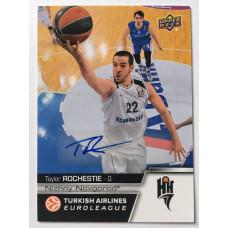 Коллекционная карточка 2015-16 Euroleague Autograph TAYLOR ROCHESTIE (Nizhny Novgorod)