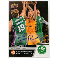 Коллекционная карточка 2015-16 Euroleague Autograph TRENT PLAISTED (Limoges CSP)