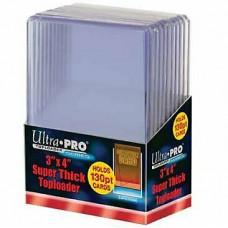 Топлодеры для толстых карточек (10 шт.) Ultra-Pro Super Thick Toploader (130 pt)