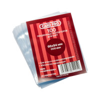 Протекторы для карточек Card Pro (100 штук) 66х94 мм