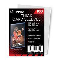 Протекторы для толстых карточек Ultra-Pro (100 штук) 71x93 мм
