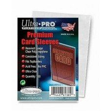 Протекторы для тонких карточек Ultra-Pro (100 штук) 65х92 мм