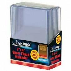 Топлодеры для толстых карточек (10 шт.) Ultra-Pro Super Thick Toploader (120 pt)