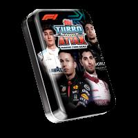 1 мини-тин C (36 карточек) по коллекции 2020 Topps Formula 1 Turbo Attax