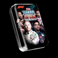 1 мини-тин А (36 карточек) по коллекции 2020 Topps Formula 1 Turbo Attax