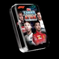 1 мини-тин В (36 карточек) по коллекции 2020 Topps Formula 1 Turbo Attax