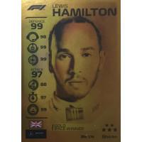 ЛЬЮИС ХЭМИЛТОН (Мерседес) 2020 Topps Formula 1 Turbo Attax #174