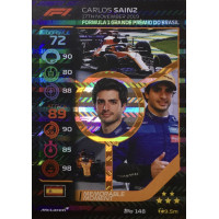 КАРЛОС САЙНС (Макларен) 2020 Topps Formula 1 Turbo Attax #148