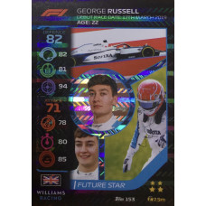 ДЖОРДЖ РАССЕЛЛ (Уильямс) 2020 Topps Formula 1 Turbo Attax #153
