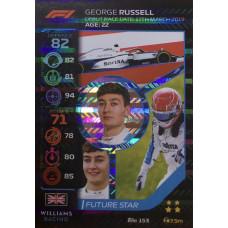 ДЖОРДЖ РАССЕЛЛ (Уильямс) 2020 Topps Formula 1 Turbo Attax #153