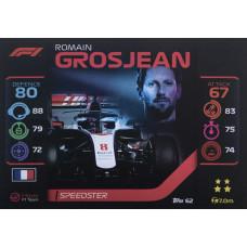 РОМЕН ГРОЖАН (Хаас) 2020 Topps Formula 1 Turbo Attax #62