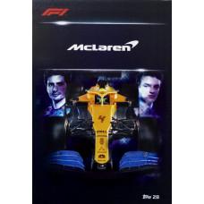 МАКЛАРЕН 2020 Topps Formula 1 Turbo Attax #28